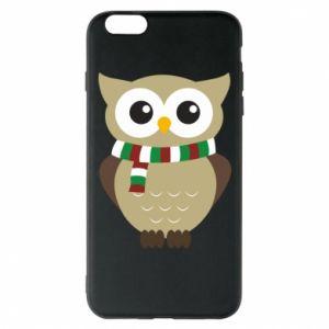 iPhone 6 Plus/6S Plus Case Owl in a scarf
