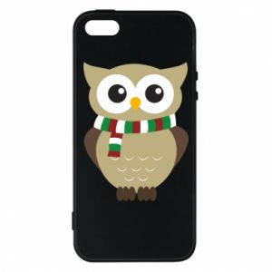 Phone case for iPhone 5/5S/SE Owl in a scarf