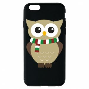 Phone case for iPhone 6/6S Owl in a scarf