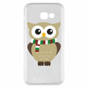 Phone case for Samsung A5 2017 Owl in a scarf