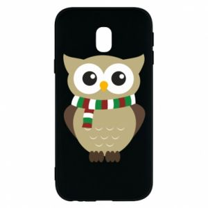 Phone case for Samsung J3 2017 Owl in a scarf
