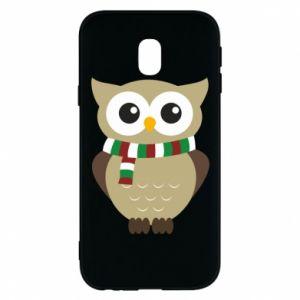 Samsung J3 2017 Case Owl in a scarf