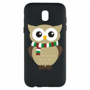 Phone case for Samsung J5 2017 Owl in a scarf