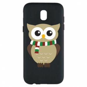 Samsung J5 2017 Case Owl in a scarf