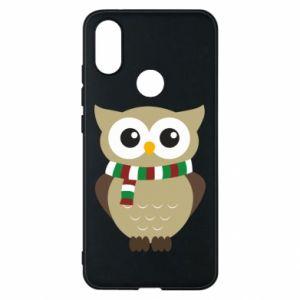 Phone case for Xiaomi Mi A2 Owl in a scarf