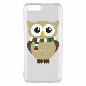 Xiaomi Mi6 Case Owl in a scarf