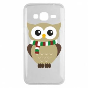 Phone case for Samsung J3 2016 Owl in a scarf