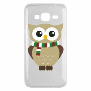 Samsung J3 2016 Case Owl in a scarf