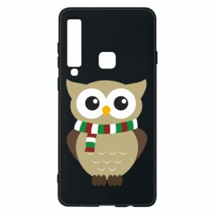 Phone case for Samsung A9 2018 Owl in a scarf