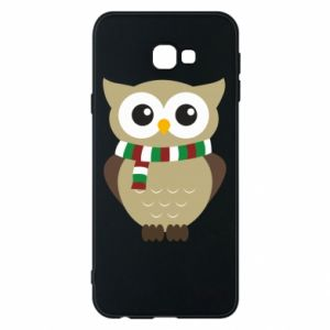 Phone case for Samsung J4 Plus 2018 Owl in a scarf
