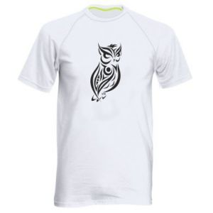 Men's sports t-shirt Owl