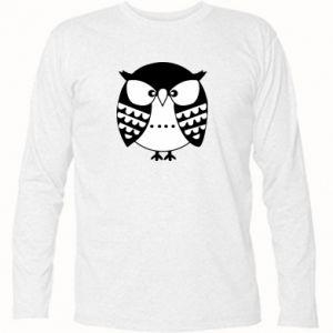 Koszulka z długim rękawem Zła sowa