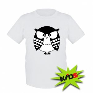 Kids T-shirt Evil owl