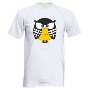 Men's sports t-shirt Evil owl