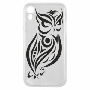 Phone case for iPhone XR Owl