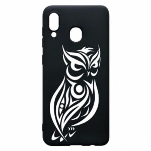 Phone case for Samsung A30 Owl