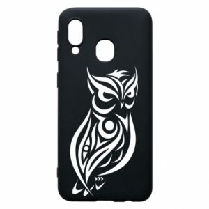Phone case for Samsung A40 Owl