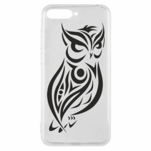 Phone case for Huawei Y6 2018 Owl