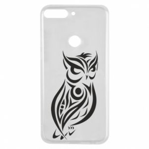 Phone case for Huawei Y7 Prime 2018 Owl