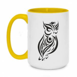 Two-toned mug 450ml Owl