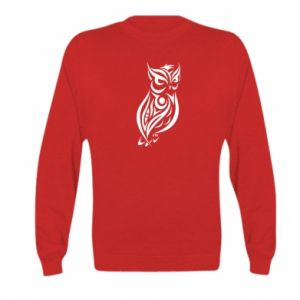 Kid's sweatshirt Owl