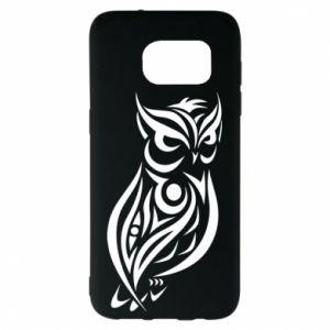 Samsung S7 EDGE Case Owl