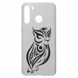Samsung A21 Case Owl