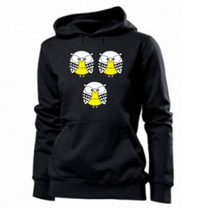 Women's hoodies Owls - PrintSalon
