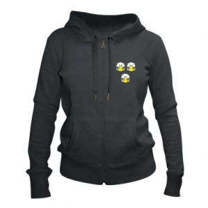 Women's zip up hoodies Owls - PrintSalon