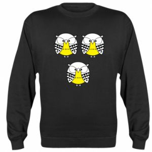 Sweatshirt Owls - PrintSalon