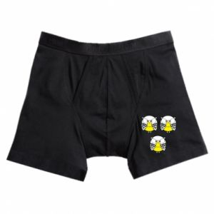 Boxer trunks Owls - PrintSalon