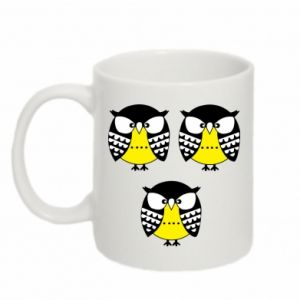 Mug 330ml Owls - PrintSalon