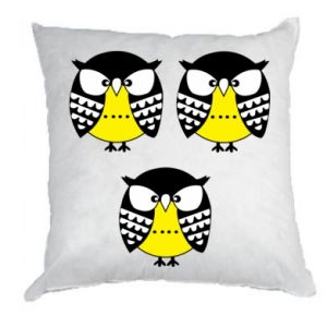 Pillow Owls - PrintSalon