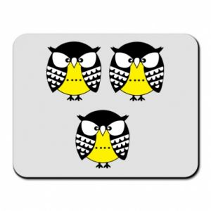 Mouse pad Owls - PrintSalon