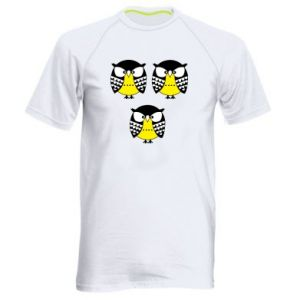 Men's sports t-shirt Owls - PrintSalon