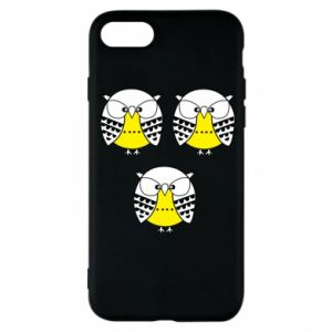 Phone case for iPhone 8 Owls - PrintSalon