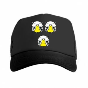 Trucker hat Owls - PrintSalon