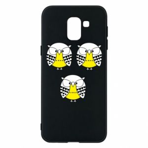 Phone case for Samsung J6 Owls - PrintSalon