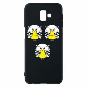 Phone case for Samsung J6 Plus 2018 Owls - PrintSalon