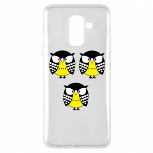 Phone case for Samsung A6+ 2018 Owls - PrintSalon