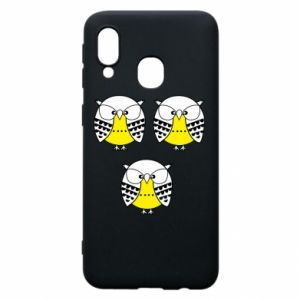 Phone case for Samsung A40 Owls - PrintSalon
