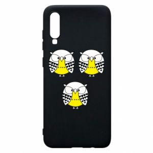 Phone case for Samsung A70 Owls - PrintSalon