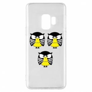 Phone case for Samsung S9 Owls - PrintSalon