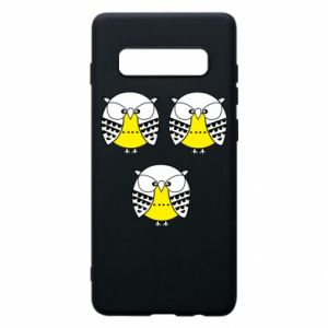 Phone case for Samsung S10+ Owls - PrintSalon