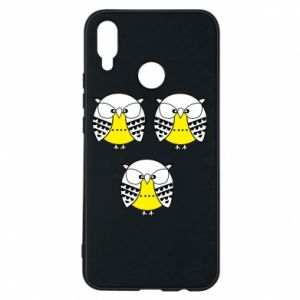 Phone case for Huawei P Smart Plus Owls - PrintSalon
