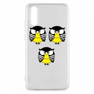 Phone case for Huawei P20 Owls - PrintSalon