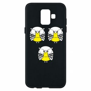 Phone case for Samsung A6 2018 Owls - PrintSalon