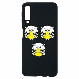 Phone case for Samsung A7 2018 Owls - PrintSalon