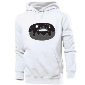 Men's hoodie Space donut - PrintSalon