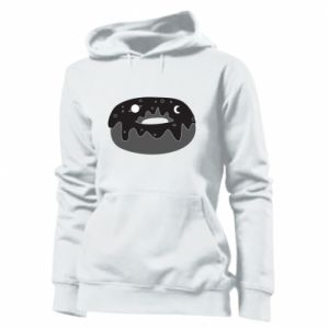 Women's hoodies Space donut - PrintSalon